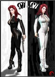 Spy vs Spy by Raddar