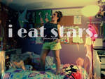 i eat stars. by handmadebyhannah