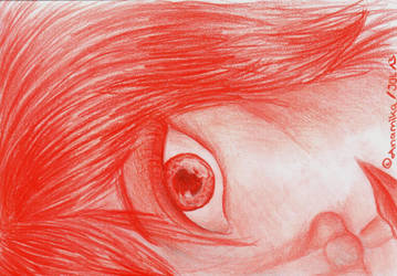 red pencil by Anamika-xx3
