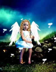 Angel de la soledad by silcuper