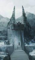 the frozen castle by artcobain