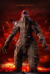 Godzilla vs Kong Teaser Poster by BlackIsAlovelyColor