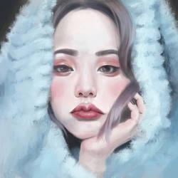 Digital portrait by JosieGitsune