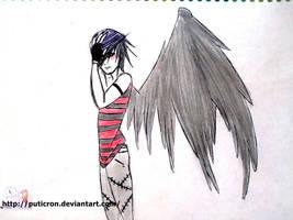 temptation angel by puticron