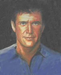 Mel Gibson by thorr