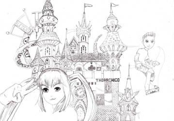 pangya wiz city contest by thorr