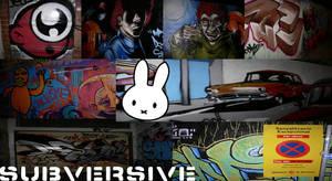 suburban bunny walls by miffona