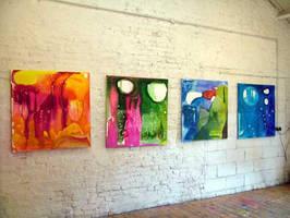 Paintings by juliecaves