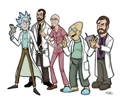 Men of Science!.....And other questionable things. by Efalt