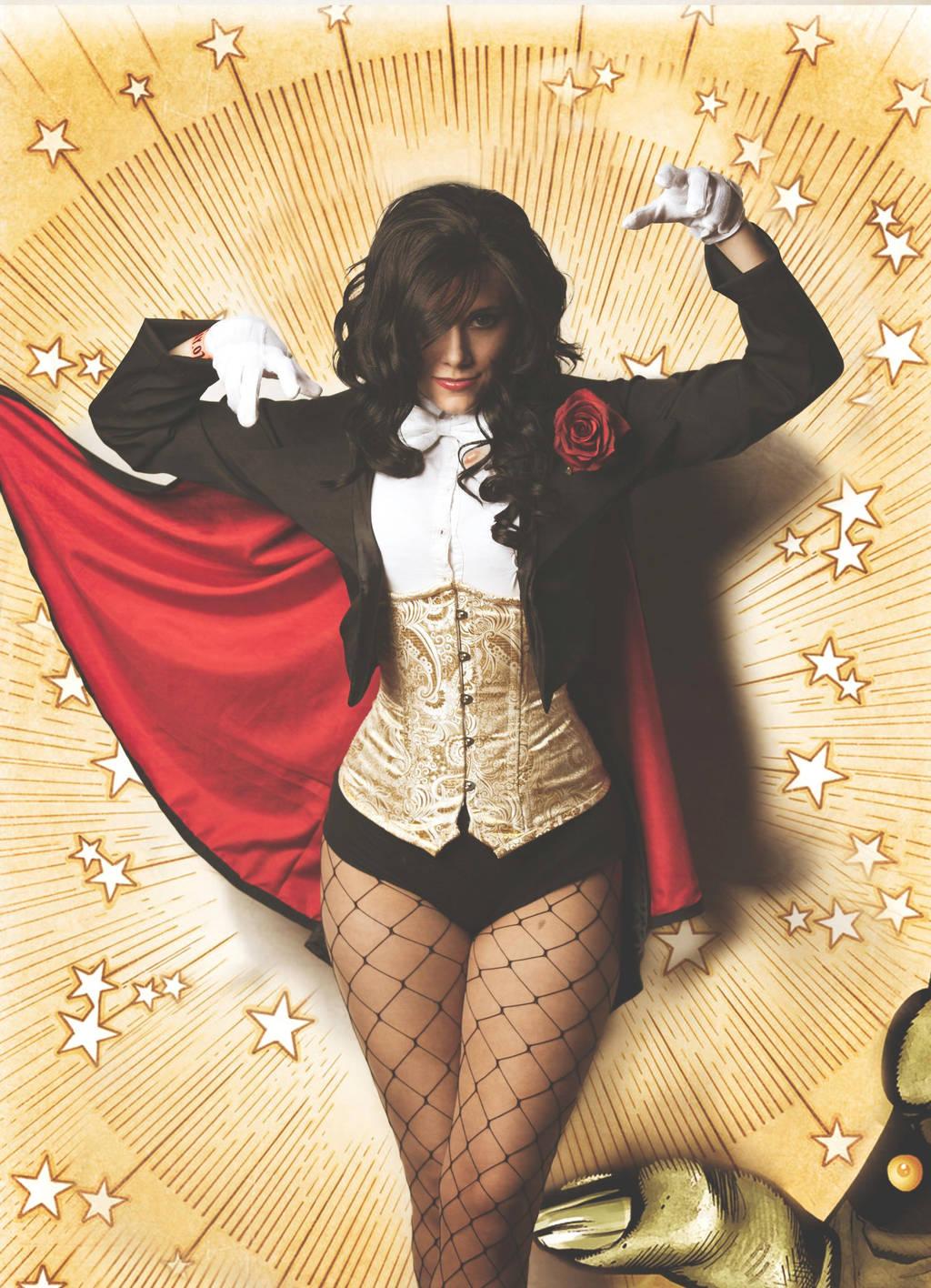 I Put a Spell on You - Zatanna by SilverShadeCosplay