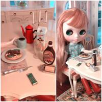 Breakfast at Puppen Haus by LittlestSweetShop