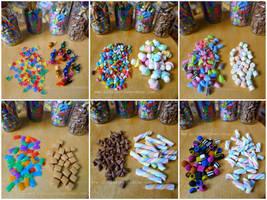 Littlest Sweet Shop sweets (miniature) by LittlestSweetShop