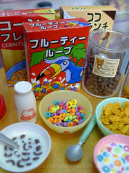 Miniature cereal by LittlestSweetShop