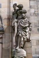 Saint Christobal at Sebald church by andersvolker