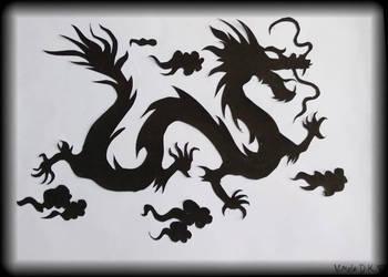 some random dragon by OrigamialStar101
