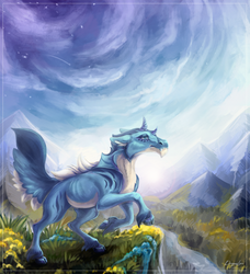 Mountains [at] by DragonisLera