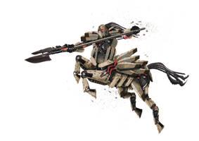 Mechanimal - Iron Centaur by godofchaosvn