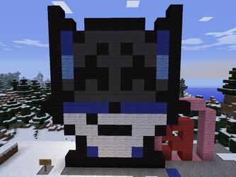 Look who's in minecraft~ by RukiaTheWolfie