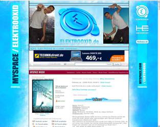Elektrooxid MySpace Site by Elektrooxid