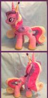 Princess Cadance Plush by NoxxPlush