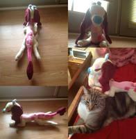 Linnie Giraffaroo Plush! by NoxxPlush