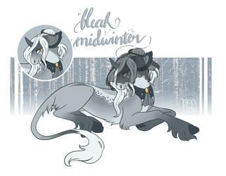 Wildling Advent Day 16 - Bleak Midwinter by NoxxPlush