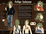 Character Sheet - Felipe by SaiyaGina