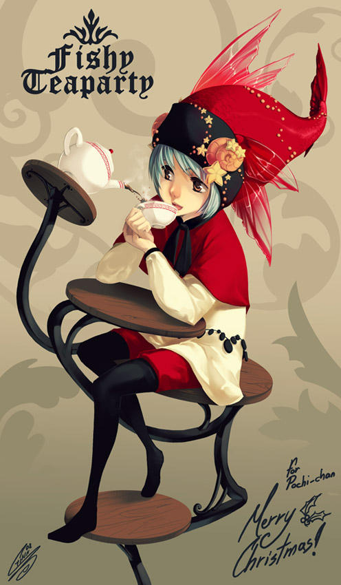 SS: Fishy Teaparty by SaiyaGina