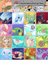 Pokemon Type Meme by SaiyaGina