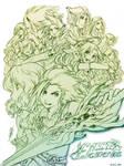 LEDLE -lineart- by SaiyaGina