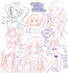 Sketch Collection by SaiyaGina