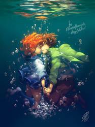 SV - Hold your breath by SaiyaGina