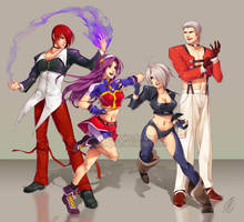 CMSN - King of Fighters by SaiyaGina
