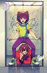 SS - Parellet Gangnam Style by SaiyaGina