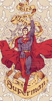 Superman by SaiyaGina