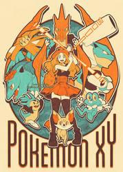 Pokemon XY by SaiyaGina