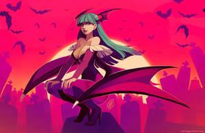 Morrigan by SaiyaGina