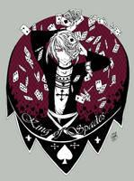 King of Spades by SaiyaGina