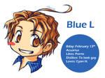 Blue L profile by SaiyaGina