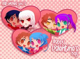 RGB - Valentine Couples by SaiyaGina
