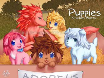 KH Puppies by SaiyaGina
