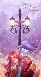 :Just Begin to Snow: by SaiyaGina