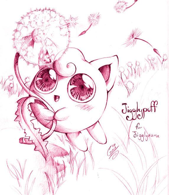 01-Jigglypuff by SaiyaGina