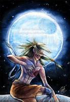 -The-Moon- by SaiyaGina