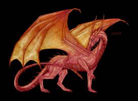 Red chimera by L-U-S-U-S
