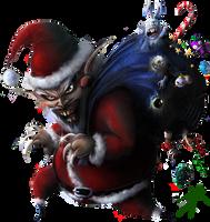 Santa Claws by D3RX