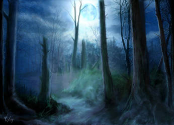 Landscape Study I by d3fect