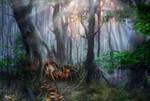 In Deeper Woods by d3fect