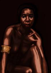 Ebony Goddess by maddwitch