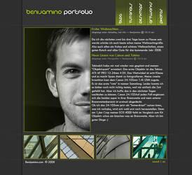 Benijamino Portfolio by SXSaix by templateartists